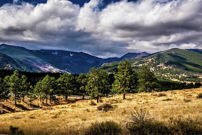 Photograph - Purple Mountains by James L Bartlett
