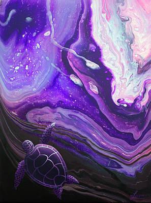 Painting - Purple Munchkin by William Love
