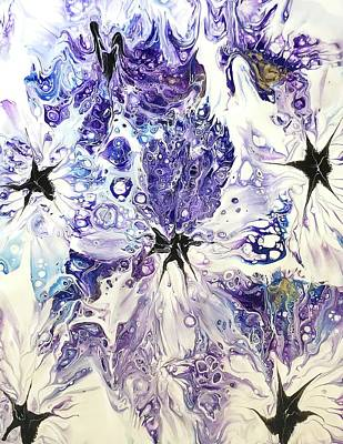 Painting - Purple Passion By Teresa Wilson by Teresa Wilson