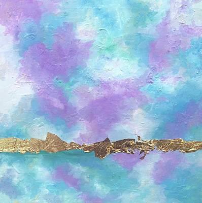 Painting - Purple Skies by Jeleata Nicole