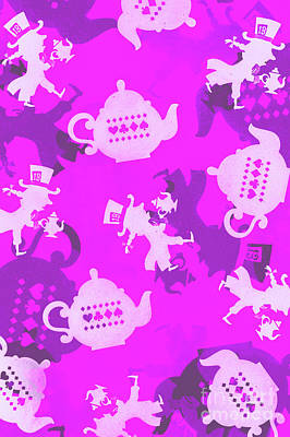 Royalty-Free and Rights-Managed Images - Purple tea party by Jorgo Photography