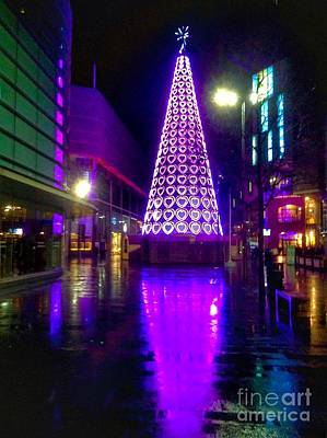 Photograph - Purple Tree Of Hearts by Joan-Violet Stretch