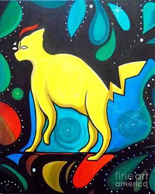 Painting - Pyecachu by John Lyes