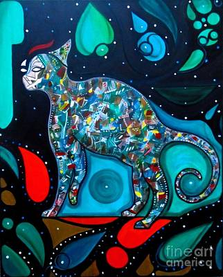 Painting - Pyechedelic by John Lyes