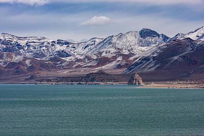 Photograph - Pyramid Lake 1 by Al Hann