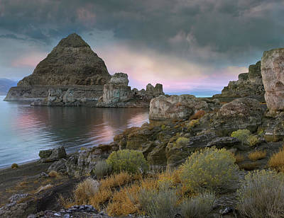 Scenery Photograph - Pyramid Lake, Nevada by Tim Fitzharris/ Minden Pictures