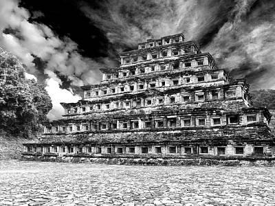 Photograph - Pyramid Of The Niches At El Tajin by Dominic Piperata