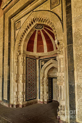 Photograph - Qila-i-kuhna Mosque 02 by Werner Padarin