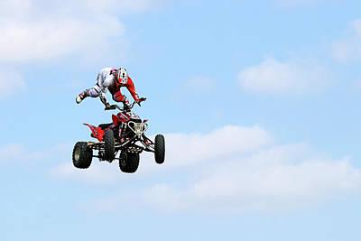 Unicorn Dust - Quad Stunts- In The Air IV by Debbie Oppermann