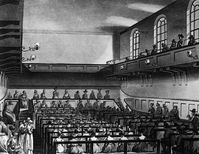 Quakers Meeting Art Print by Hulton Archive