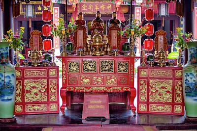 Photograph - Quan Cong Temple by Fabrizio Troiani