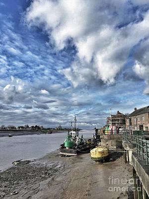Vincent Van Gogh - Quayside, Kings Lynn by John Edwards