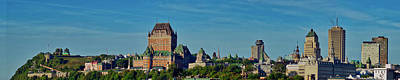 Photograph - Quebec City Pano by Meta Gatschenberger