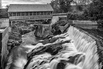 Photograph - Quechee Old Mill District by Rick Berk