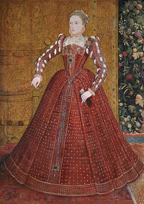 Painting - Queen Elizabeth I by Steven van der Meulen