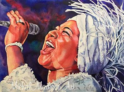 Painting - Queen Of Soul by Michal Madison