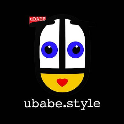 Digital Art - Queen Of Style by Ubabe Style