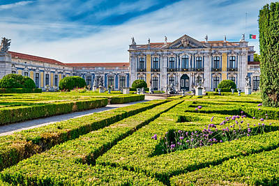 Photograph - Queluz Palace And Garden - Portugal by Stuart Litoff