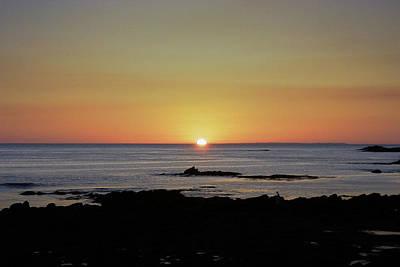 Photograph - Quiberon Sunset by Helen Northcott