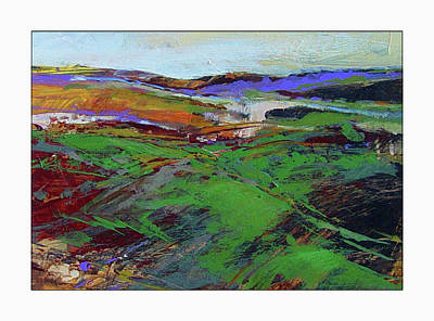 Painting - Quickly Moving Landscape by Dale Witherow