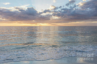 Photograph - Quiet Evening Over The Gulf Of Mexico by Brian Jannsen