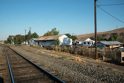 Photograph - Quiet Tracks In Pendleton by Tom Cochran