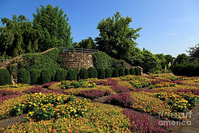 Photograph - Quilt Garden In Asheville North Carolina by Jill Lang