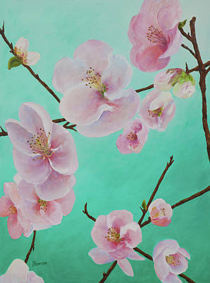 Painting - Quince by Patricia Benson