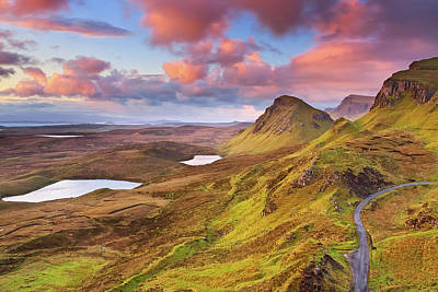 Quiraing View Art Print by By Michael Breitung Photography -> Www.mibreit-photo.com