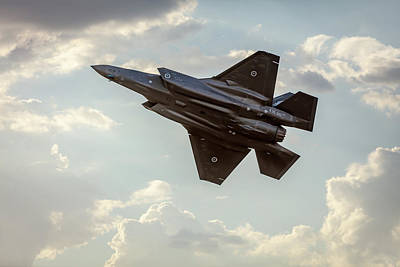 Photograph - Raaf F-35a Lightning II Joint Strike Fighter by Chris Cousins