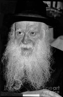 Photograph - Rabbi Yehuda Zev Segal - Manchester Rosh Yeshiva by Doc Braham