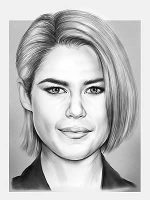Drawings Rights Managed Images - Rachael Taylor Royalty-Free Image by Greg Joens