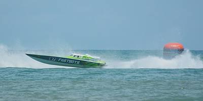 Bradford Martin - Offshore Powerboat Racing - Wall Art