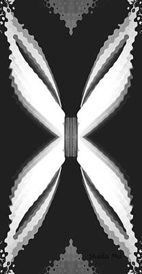 Digital Art - Radiate Butterfly Art by Sheila Mcdonald