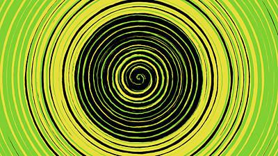 Digital Art - Radical Spiral 19032 by REVAD David Riley