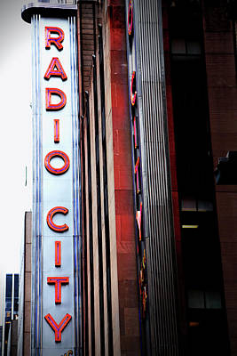 Photograph - Radio City  by Karol Livote