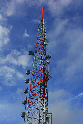 Photograph - Radio Tower On Mount Greylock by Raymond Salani III