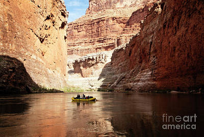 Photograph - Rafting The Colorado by Scott Kemper