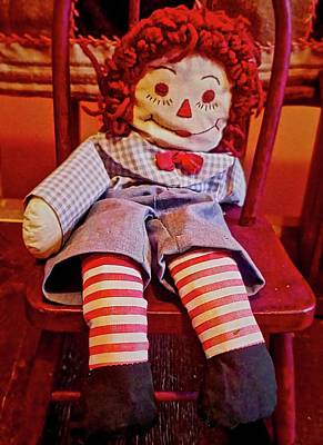 Photograph - Raggedy Ann Doll by Joan Reese