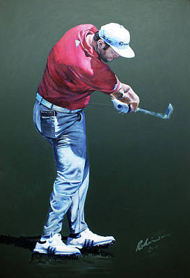 Painting -  Rahm At Ballyliffin by Mark Robinson