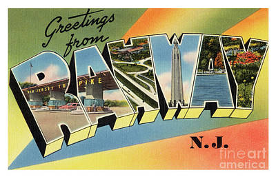 Photograph - Rahway Greetings by Mark Miller
