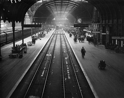 Photograph - Rail Strike by A R Coster