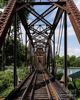 Railroad Bridge 6th Street Augusta Ga 1 Art Print