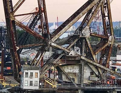 Photograph - Railroad Bridge by Suzanne Lorenz