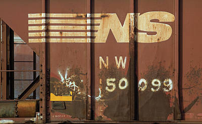 Catch Of The Day - Railroad Car NW 50099 Color by Joseph C Hinson