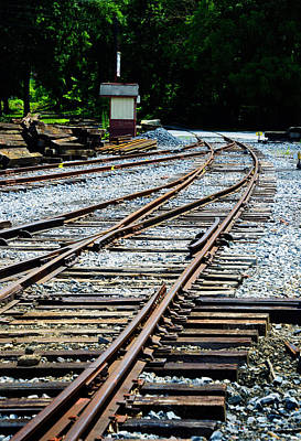 Pittsburgh According To Ron Magnes - Railroad Siding Tracks by Paul W Faust - Impressions of Light