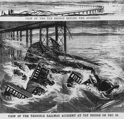 Railway Accident Art Print by Hulton Archive