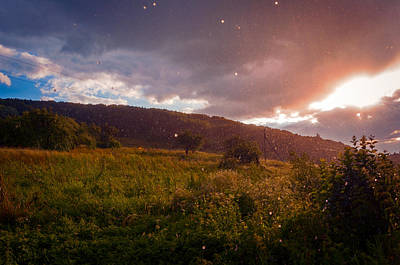 Photograph - Rain and Sun  by Valerie Lazareva
