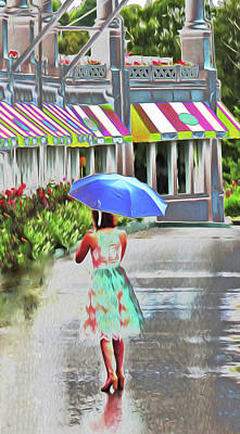 Photograph - Rain At The Mack by Becky Bunting