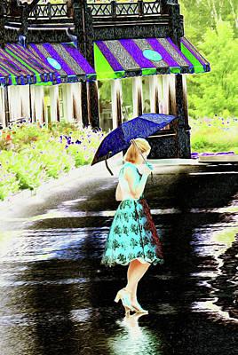 Digital Art - Rain Dance by Becky Bunting